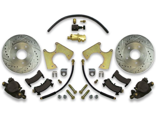 Installing Big Brake Upgrade For Donk Is Easy With Disc Conversion Swap System Upgrade With Rotors