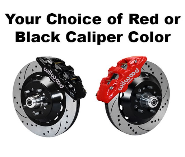 Wilwood Red Or Black Caliper Selection When Installing  Wheel Disc Brake Conversion Into Donk Type