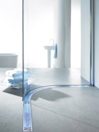 Lighted Shower Channel Drains by ACO Haustechnik