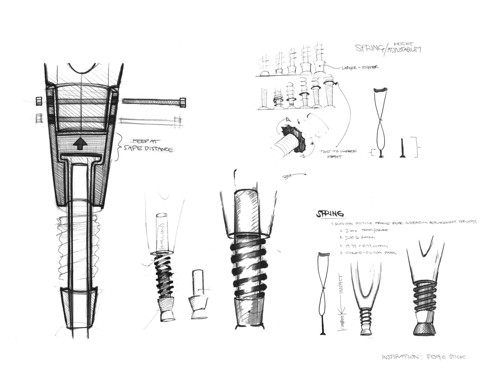 Manko Wooden Crutch Concept
