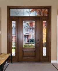 Toronto Wrought Iron Stained Glass | Doors Inserts, Iron ...