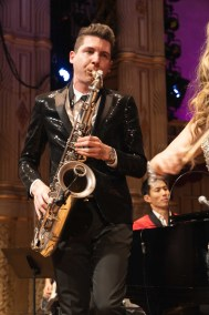Eli Bennett on Saxophone