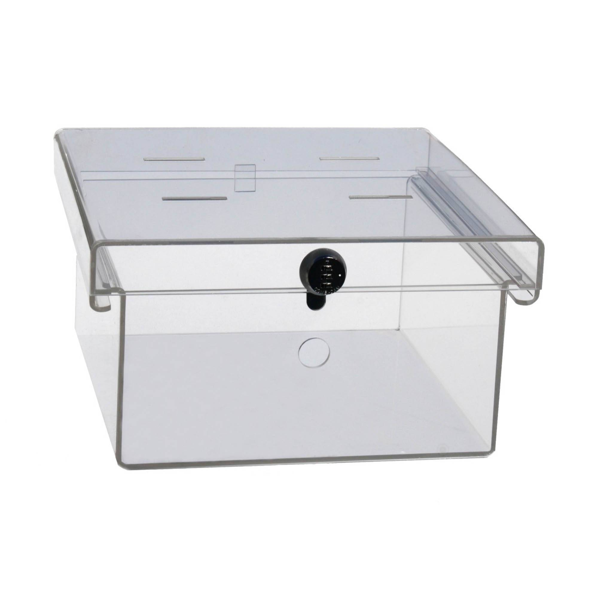 Clear Acrylic Refrigerator Lock Box UM3093