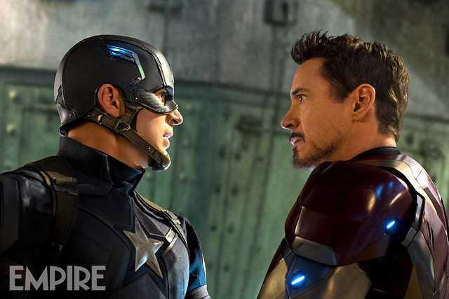Captain America: Civil War (Empire Magazine)