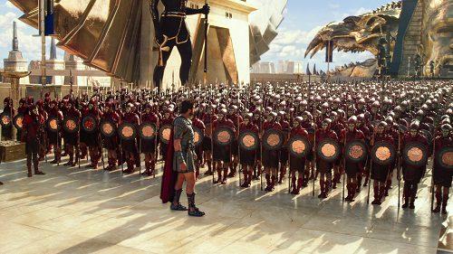Si parla di numeri in battaglia nella prima clip italiana di Gods of Egypt