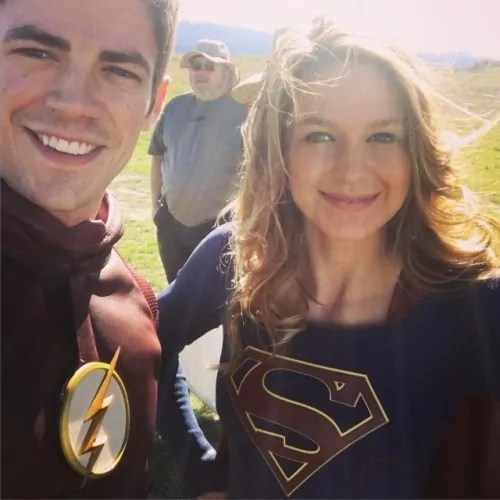 flash crossover supergirl