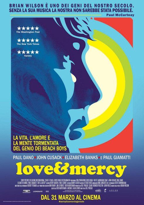 Love & Mercy poster