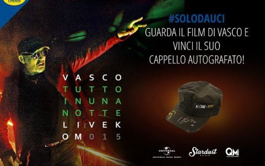 Vasco Rossi (Concorso Uci Cinemas)