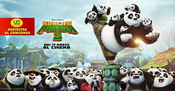Kung Fu Panda 3 (Concorso a Premi)
