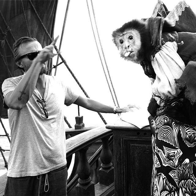 Pirati dei Caraibi 5 (dal set)