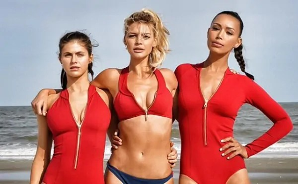Baywatch (Alexandra Daddario, Kelly Rohrbach e Ilfenesh Hadera)