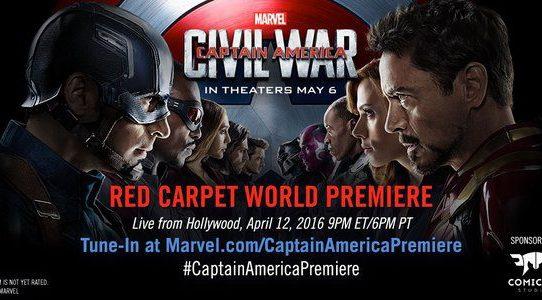 #CaptainAmericaPremiere