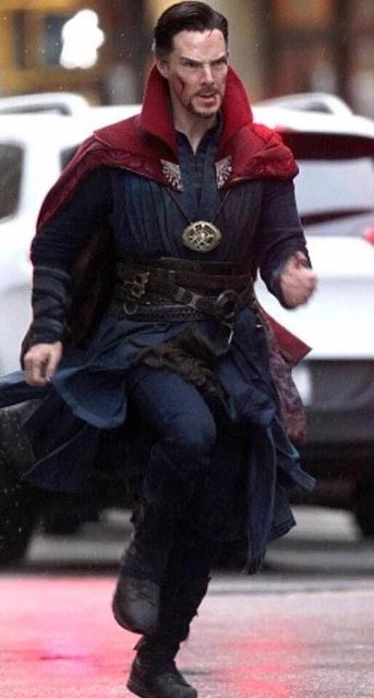Doctor Strange (dal set)