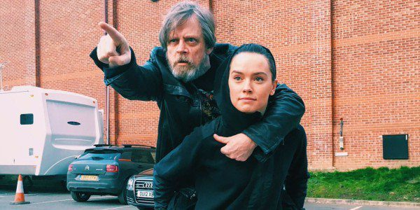 Mark Hamill & Daisy Ridley (Star Wars VIII Set)