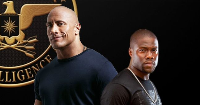 kevin hart e dwayne johnson
