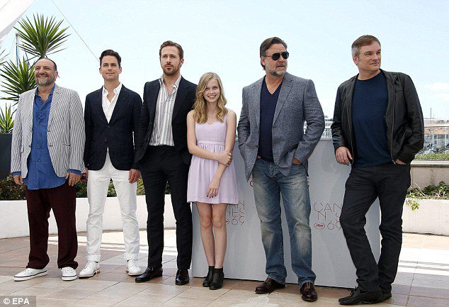 Cannes 69 – Croisette anni '70 con Russell Crowe e Ryan Gosling per The Nice Guys