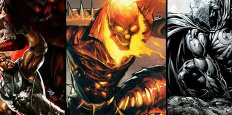 blade ghost rider moon knight