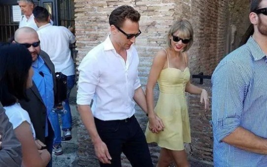 taylor swift tom hiddleston roma