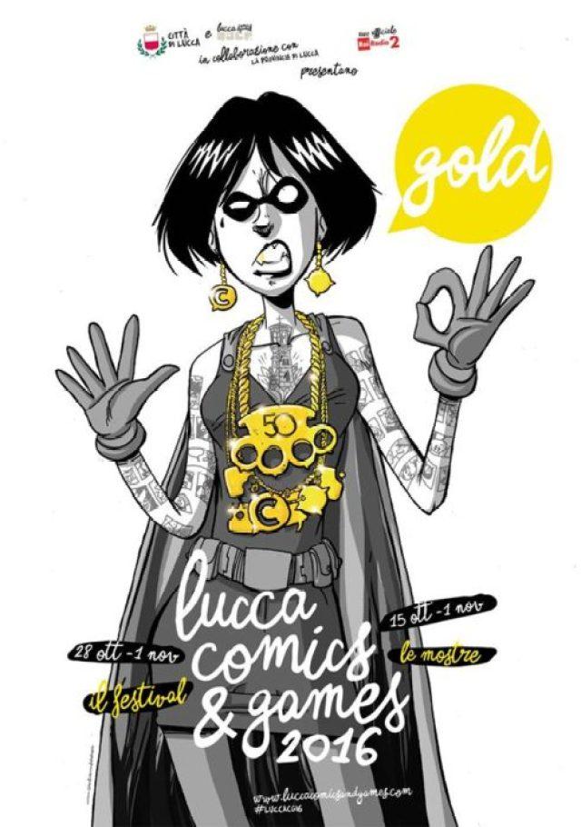manifesto Lucca Comics & Games