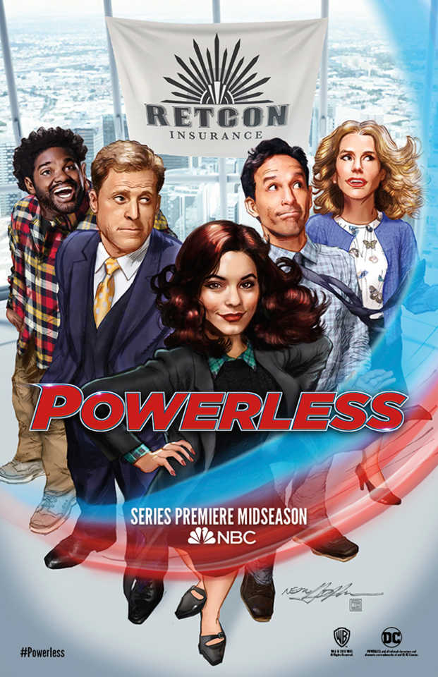 powerless poster sdcc