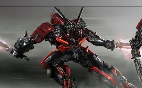Diamo un primo sguardo al nuovo look di Drift in Transformers: The Last Knight