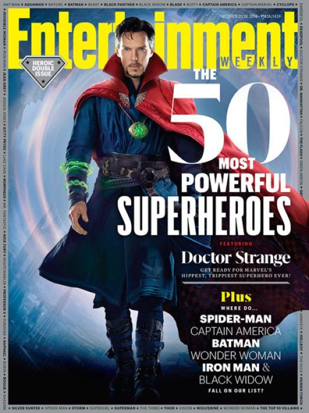 Doctor Strange (cover Entertainment Weekly)