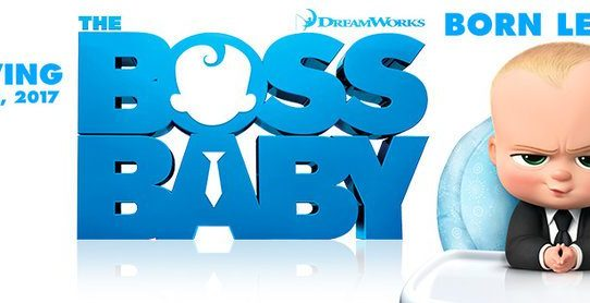 baby boss cartoon banner