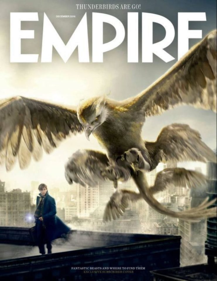 animali fantastici empire magazine