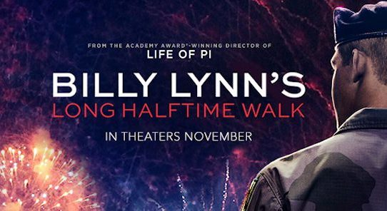 billy lynn film banner