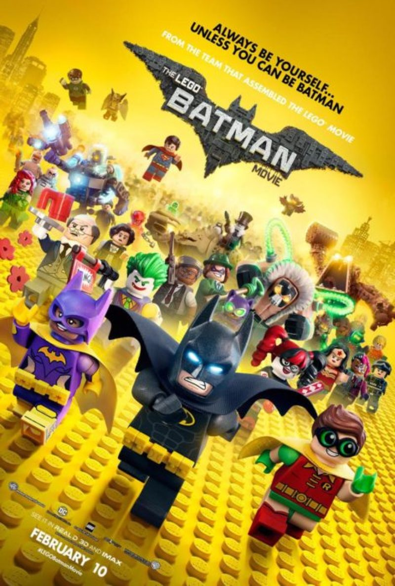 lego batman film poster
