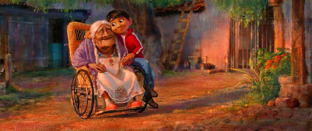 coco cartoon foto mother's day