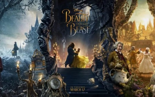 bella e la bestia poster