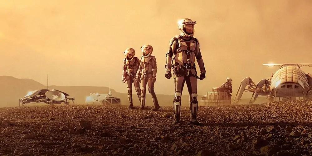 La seconda stagione della serie tv Marte dal 22 novembre su Sky