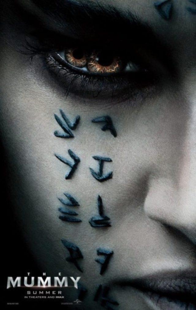 la mummia poster cinemacon