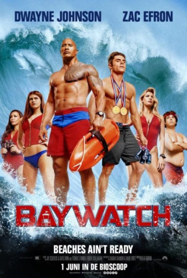 nuovo poster internazionale baywatch