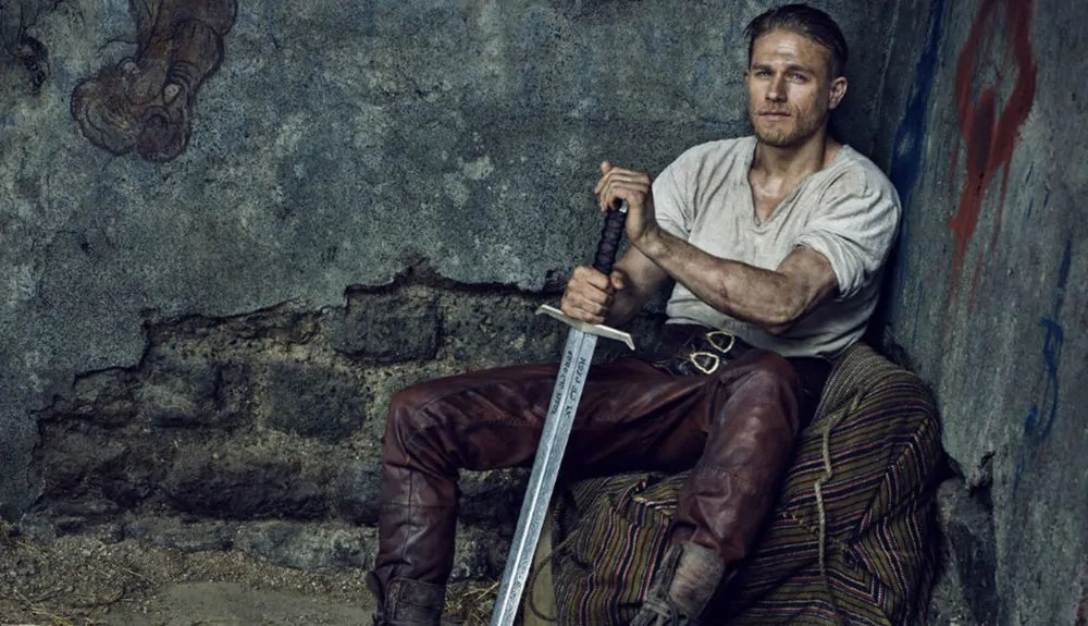king arthur potere spada poster