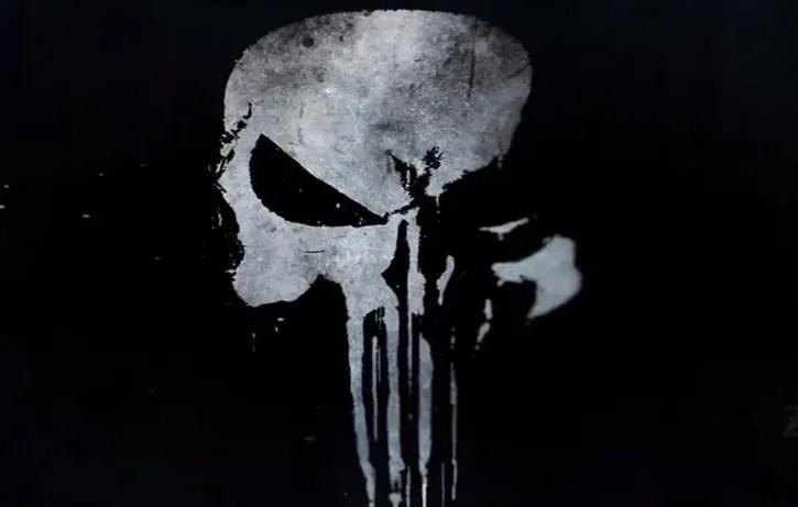 Il logo del Punitore della Marvel nel breve teaser trailer di The Punisher