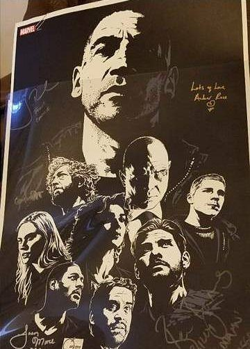 joe quesada poster the punisher serie tv