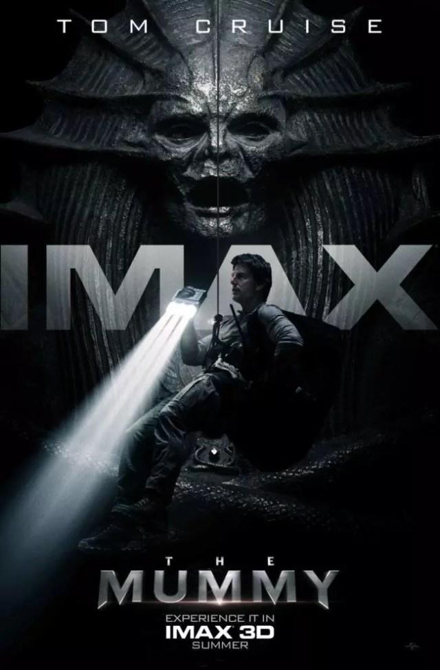 la mummia poster imax