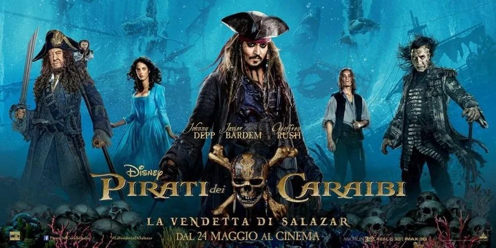 Pirati dei Caraibi 5 - la vendetta di Salazar, a Ragusa