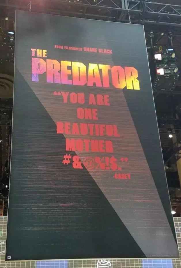 predator expo poster