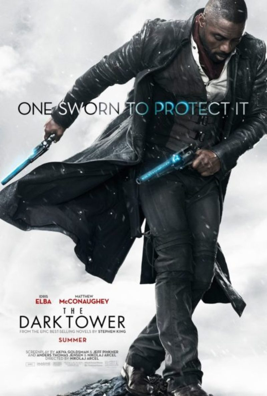 la torre nera poster idris elba