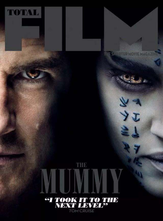 total film magazine cover la mummia