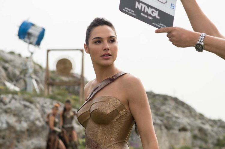 foto dal set italiano di wonder woman