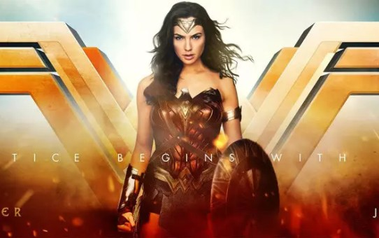 wonder woman banner justice league