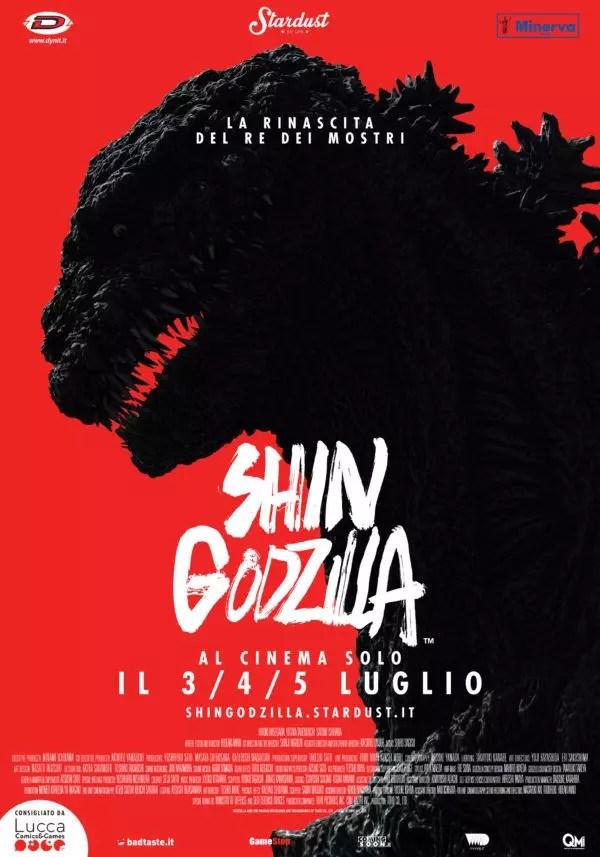 shin godzilla poster italiano