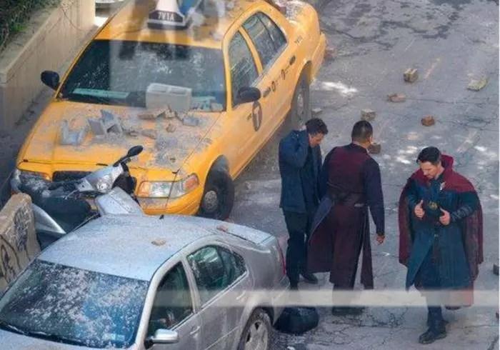 avengers infinity war foto set