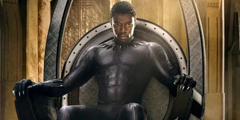 black panther poster slide