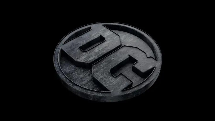 dc films logo fan