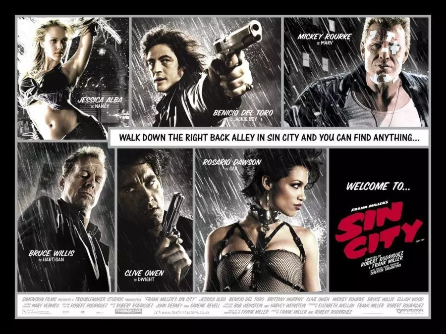 Sin City pronta a diventare una serie tv